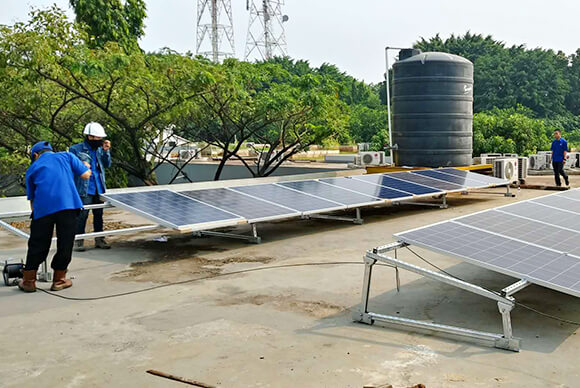 20KW Rooftop solar power system(3)