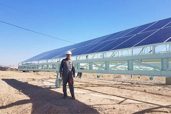 70KW On-grid Power Station System in Afghanistan
