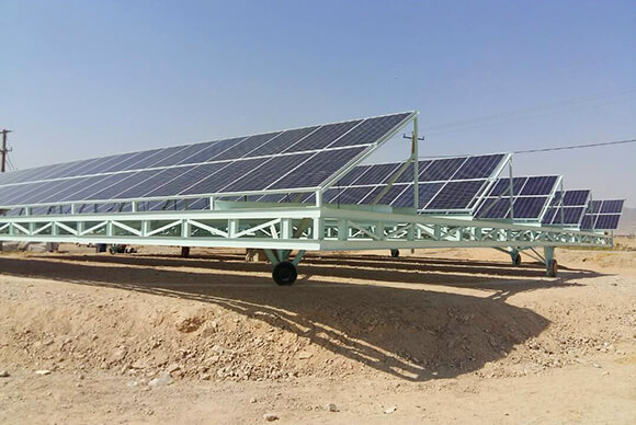 55KW On-grid power station system (2)