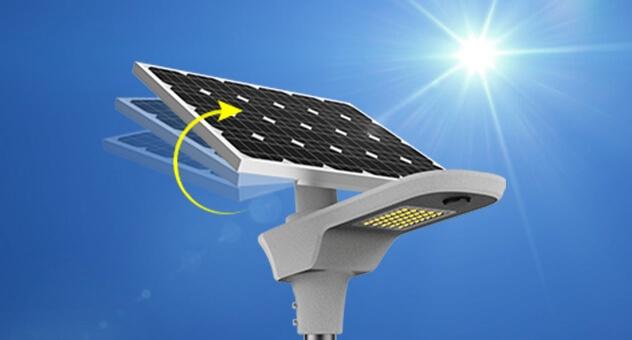 Solar panel angle adjustable