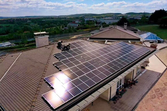 30KW Solar Roof off-grid Power System for Residential