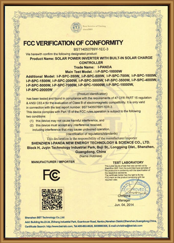 FC-Certification