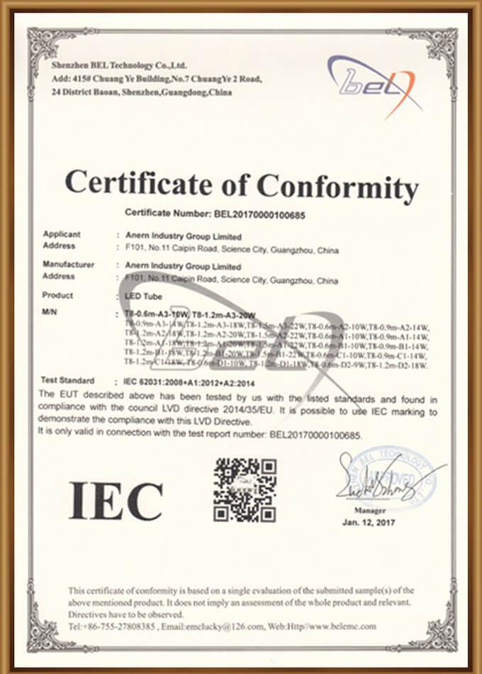 IEC Certification