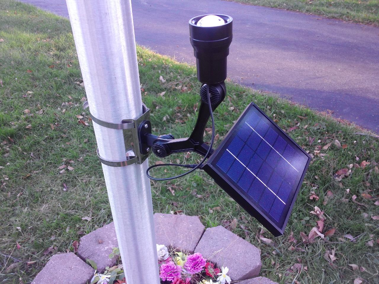10 Best Solar LED Flagpole Light