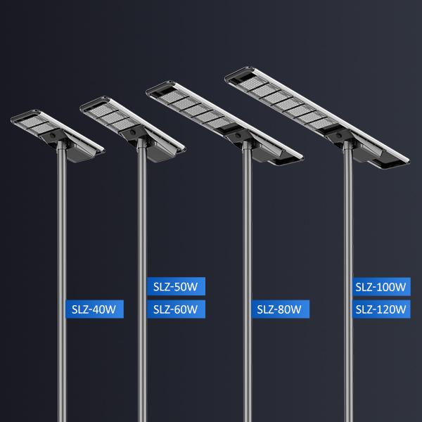 60W Enlarged LED Module Solar Street Light 2021