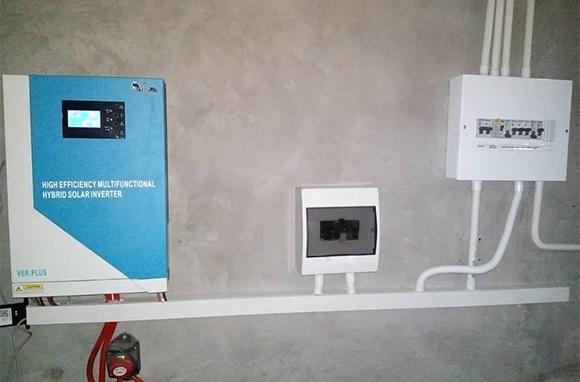 5KW Off-grid Solar Power System in Botswana