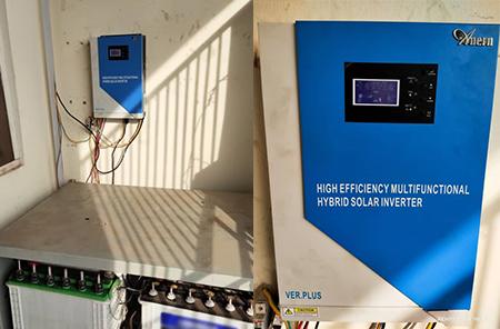 5.5KW Solar Hybrid Inverter in Enugu, Nigeria